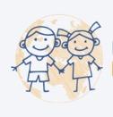 Logo fédération internationale des relais enfants parents